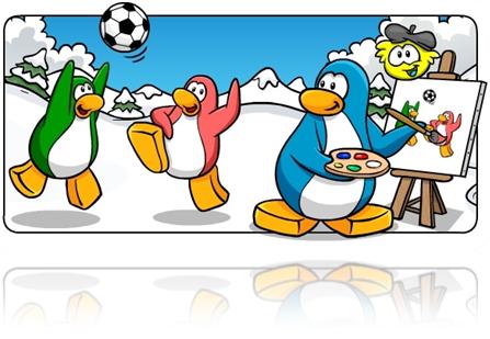 bloq de club penguin por Antoniet24